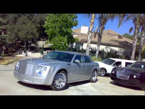 chrysler 300 rolls royce - youtube