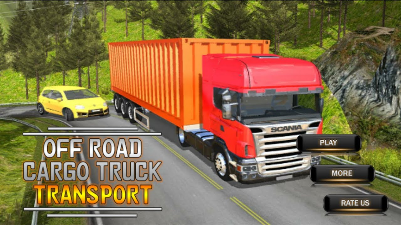 Offroad Cargo Truck Transport - Container Transport Truck Driving Game