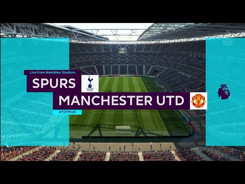 FIFA 18 | Premier League | Spurs v Manchester Utd | Wembley Stadium
