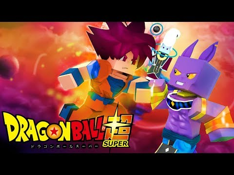 Thumbnail: Minecraft: DRAGON BALL SUPER - GOKU DEUS SUPER SAYAJIN VS BILLS ! 12