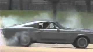 1967 Shelby GT500 Eleanor Burnout , Drift