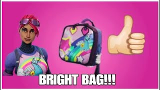 HOW TO GET THE BRIGHT BAG FORTNITE *SKIT*