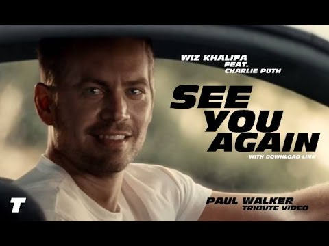 See You Again **Paul Walker Tribute** - Wiz Khalifa Feat. Charlie Puth !!With Download Link!!