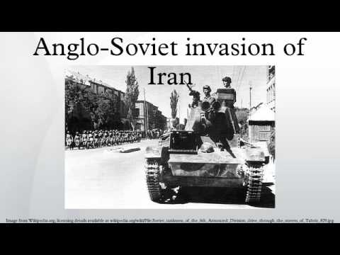 Anglo-Soviet invasion of Iran