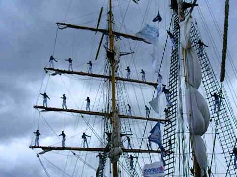 Hartlepool tall . ships brave sailors