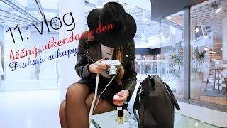 11. vlog - běžný víkendový den, Praha, výlet, nákupy, Bestie na Óčku