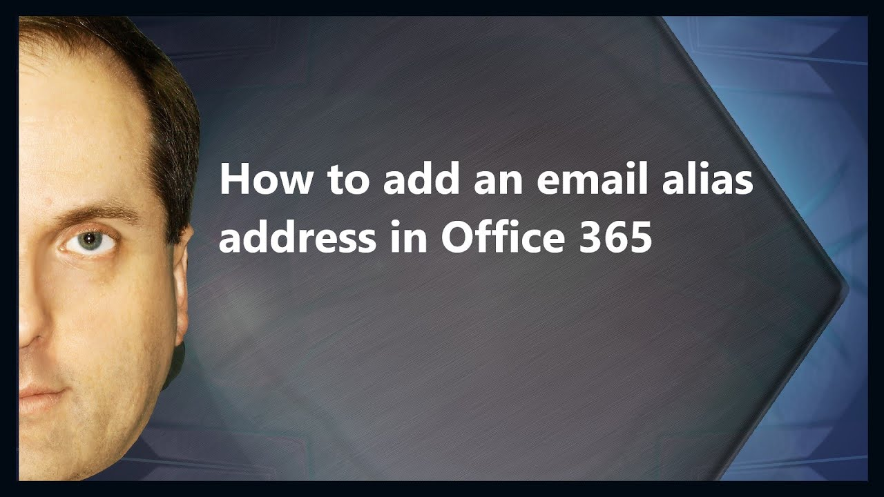 how to add office 365 email to iphone how to add an email alias address in office 365 5261