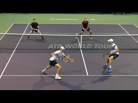 Kontinen/Peers Beat Murray/Soares In Shanghai 2016 QFs Highlights