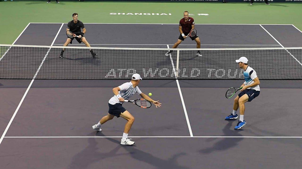 Kontinen/Peers Beat Murray/Soares In Shanghai 2016 QFs Highlights - YouTube