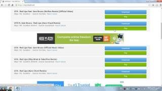 Download How to get Mp3 links in easy way.