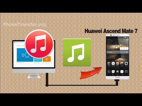 How to Transfer Music, Playlist from iTunes to Huawei Ascend Mate 7 by MobileTrans