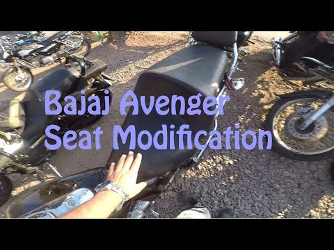 Seat modification of Bajaj Avenger | Ride to Bhuleshwar Temple | Avenger Motorcycle Club