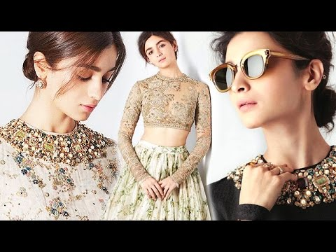 Alia Bhatt's MOST Elegant Photoshoot For Harper's Bazaar | Birthday Special