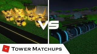 Graines d'équilibre (Seeds Of Balance) Tower Matchups - France Batailles de tour [ROBLOX]
