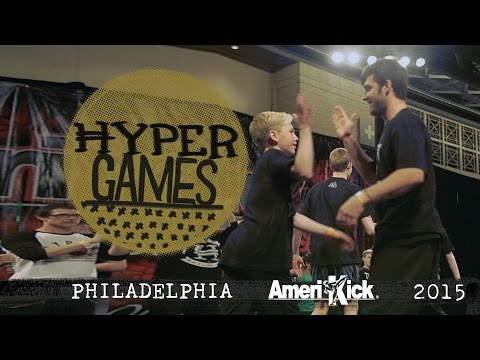 Team AmeriKick vs Team Adrenaline - Team Tricking Battle Finals - Hyper Games AmeriKick 2015