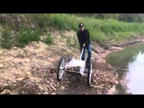 Gold Prospectors cart