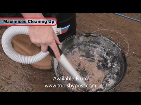 Clarke CVACASH500 22 Litre Ash Can Vacuum Cleaner