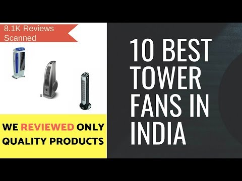 Top 10 Best Tower Fans in India | Buy Online Tower Fans