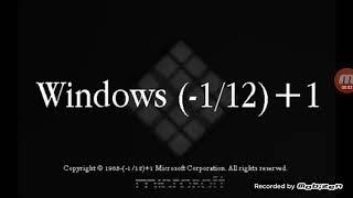 Hidden Windows (-1/12)+1 Startup Sounds