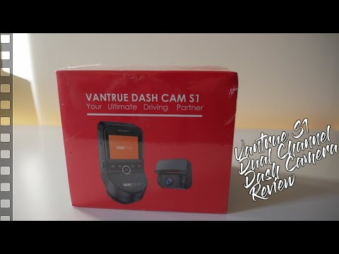 Best Dual Dashcam 2019 - Vantrue S1 Dash Camera Unboxing And Review Vs. N2 Pro Comparison