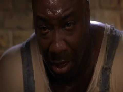 John Coffey cura a Paul - Fragmento de THE GREEN MILE - MILAGROS INESPERADOS