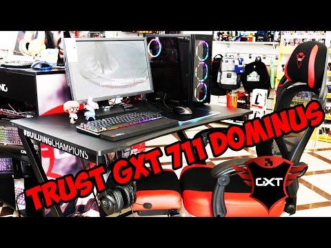Бюро за шампиони - TRUST GXT 711 Dominus Gaming Desk | Review