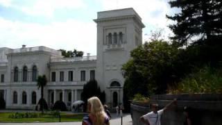 JALTA (KRYM, UKRAINA) - LETNI PALAC CAROW W LIWADII