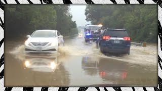 Flash-flooding in Texas caused by days and days of thunderstorms