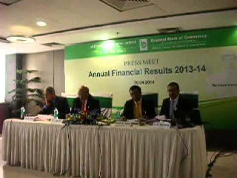 Orient Bank of Commerce Annual results 2014: DSCN4214