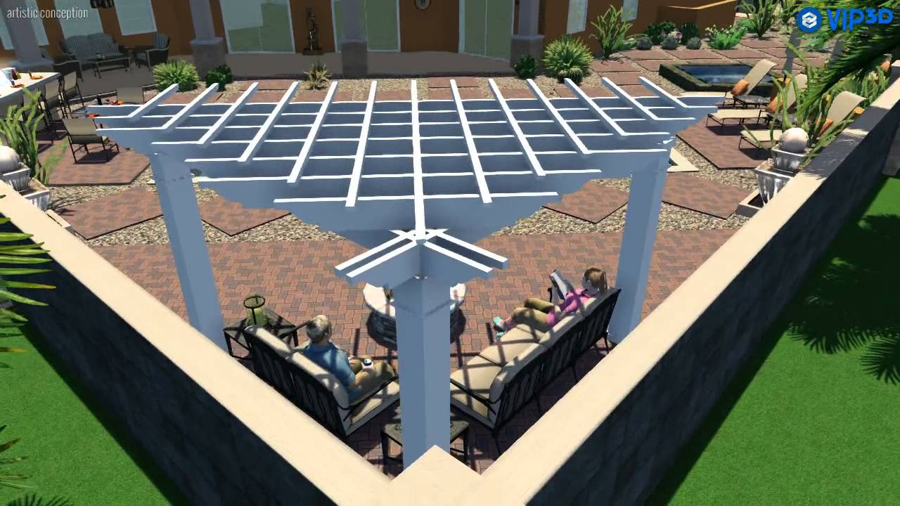 Triangular Pergola X Centers With A Right Angle Youtube