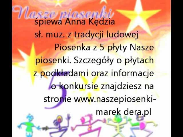 Anna Kędzia Gloria gloria - pastorałka