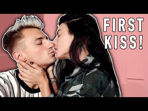 OUR FIRST KISS AS A COUPLE!
