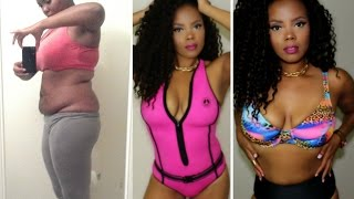 30+ LBS. WEIGHT LOSS | ❤❤ BATHING SUITS & CONFIDENCE #MYSWIMBODY| tastePINK