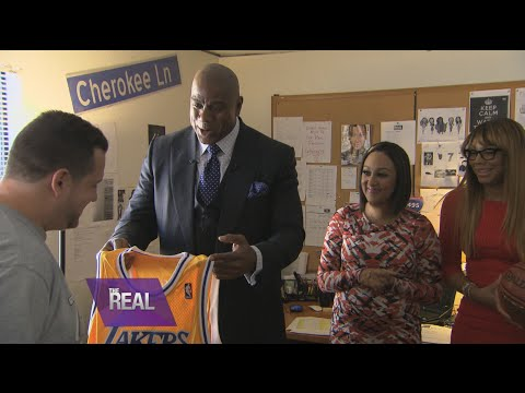 Magic Johnson Surprises a REAL Fan
