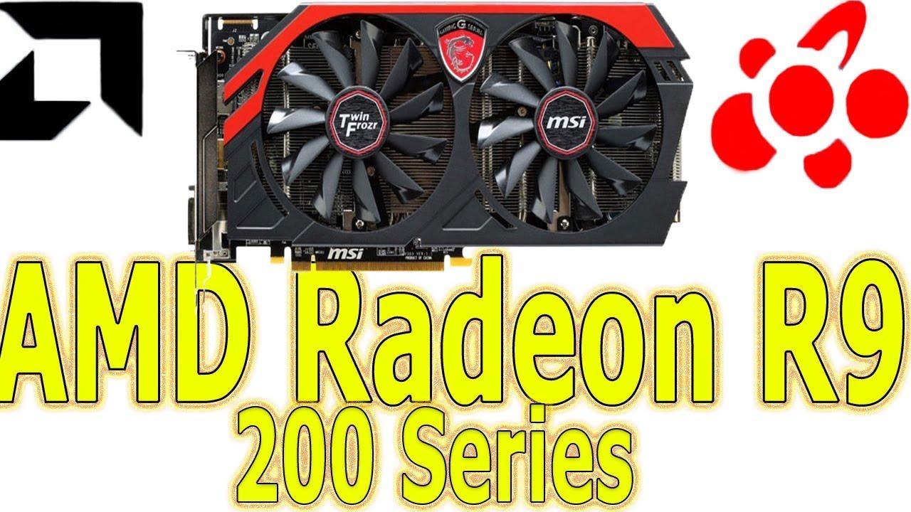 AMD Radeon R9 200 Series AMD Settings