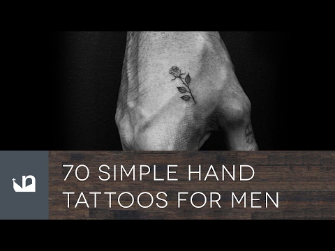 Simple Hand Tattoos For Men