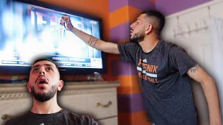 I PUNCHED MY TV!! ANGRY NBA DRAFT REACTION!