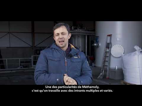 Découvrez le témoignage d'Aloïs Klein, producteur de biométhane à Saint-Denis-sur-Coise