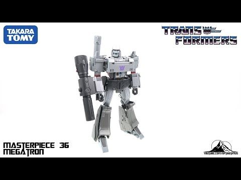 Optibotimus Reviews: Takara Tomy Transformers MP-36 Masterpiece MEGATRON