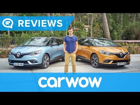 Renault Scenic & Grand Scenic 2017 review – can 7 seaters be cool? | Mat Watson reviews