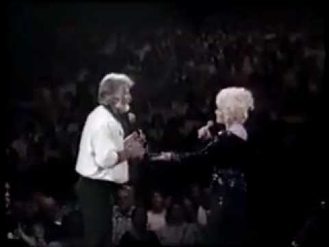 We've Got Tonight - Dolly Parton   Kenny Rogers live 1985 - Lyrics.flv