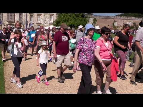 Walk For Wards 2017 - Salisbury District Hospital Stars Appeal By Icarus Aerial Videography