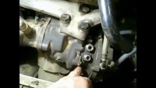 Установка турбіни та чистка заслінки на пасат б5
