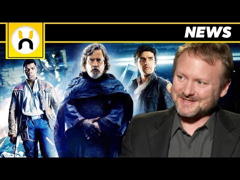The Last Jedi Rian Johnson Says He's Proud he made  Angry