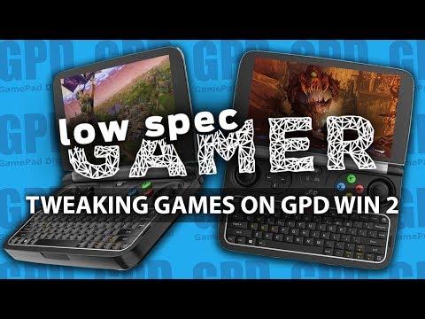 AAA Games on a Handheld? Heavy GPD Win 2 Gaming (DOOM, MGS V, Fortnite, GTA V, Skyrim and more)