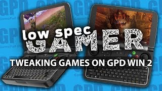 AAA Games on a Handheld? Heavy GPD Win 2 Gaming (DOOM, MGS V, Fortnite, GTA V, Skyrim and more)