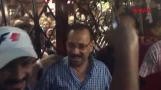 بالفيديو.. محمد رجب يُتابع 'صابر جوجل' في سينمات الإسكندرية