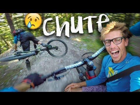 BRUTISODE #12 - CHUTE SPECTACULAIRE - VTT vélo enduro