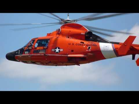 Coast Guard Helicopter Rescue Demo in HD