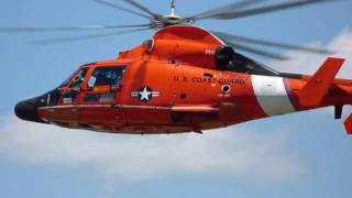 Coast Guard Helicopter Rescue Demo in HD